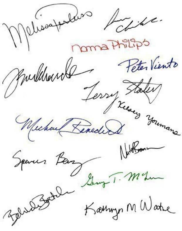Как определить характер человека по его почерку?, изображение №1
