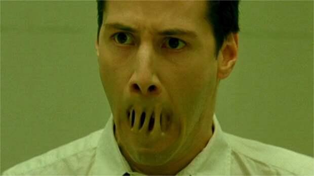 Одна из множества отсылок в фильме — к рассказу Харлана Эллисона «У меня нет рта, а я должен кричать»