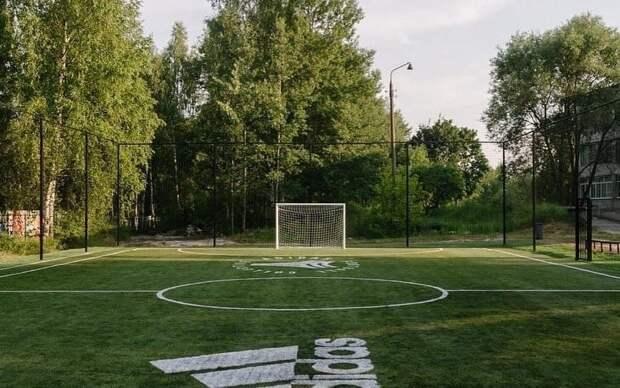 В Удмуртии компания «Адидас» поможет построить новую футбольную площадку