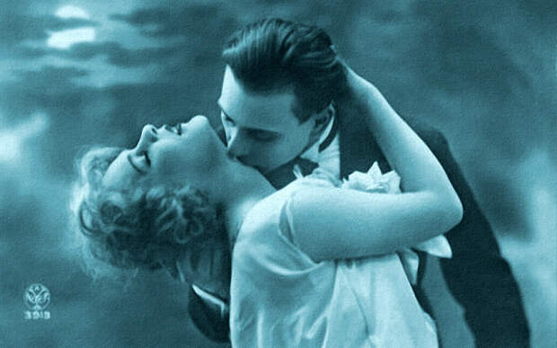 Французские открытки, в которых показано, как романтично целовались в 1920-е годы 29
