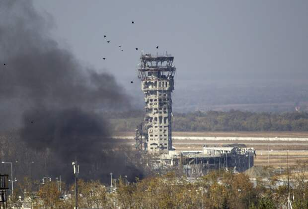 Годовщина трагедии в Донецком аэропорту
