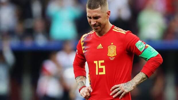Серхио Рамос не вошел в заявку сборной Испании на Евро-2020