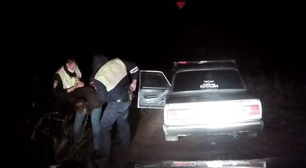 Полицейские в Удмуртии устроили погоню за пьяным водителем