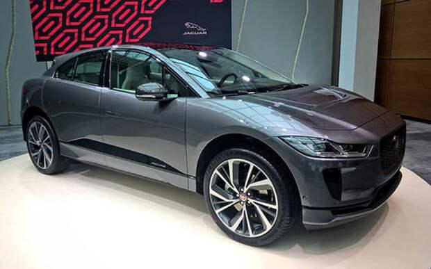 i-кроссовер: рассекречен серийный Jaguar I-Pace