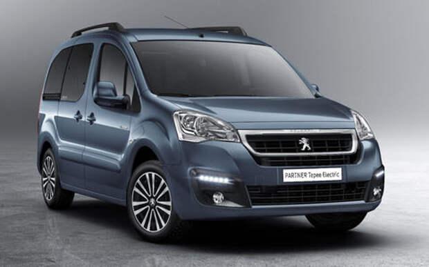 Peugeot Partner Tepee Electric: поездка будет недолгой