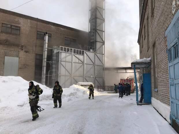 Пожар произошел на предприятии «Мечел-Энерго» в Ижевске