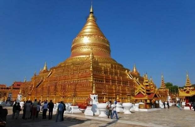 Древние города. Баган в Бирме