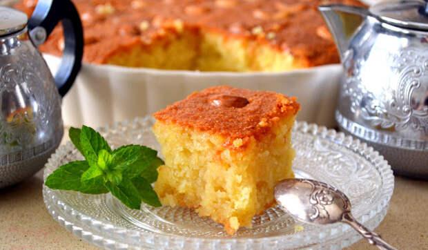 Басбуса - арабский манный пирог незабываемого вкуса!