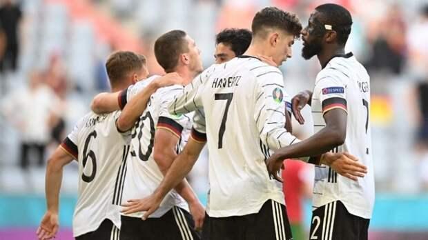 Германия – лучшая европейская сборная по результативности