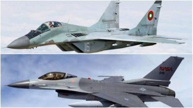 Российский МиГ-29М победил вбою американский F-16C