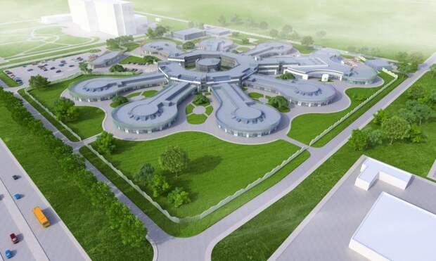 Возле нового медцентра имени Семашко построят инфекционную больницу