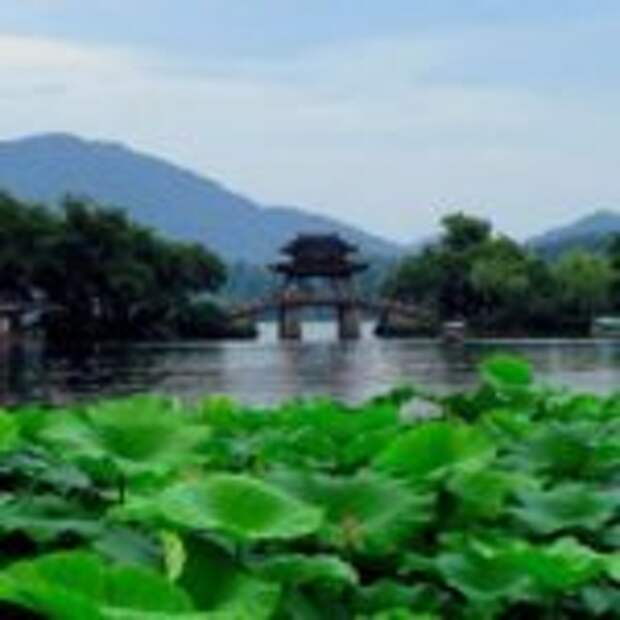 Сады озера Сихо. Ханчжоу. Китай