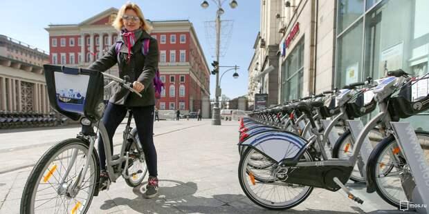 В Марьиной роще после зимы открылись семь станций велопроката
