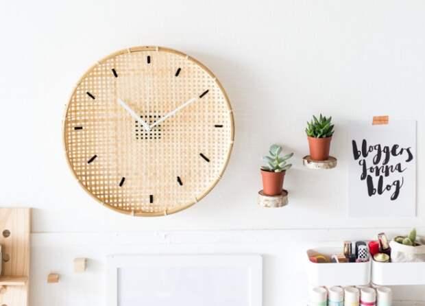 необычные часы на кухню своими руками