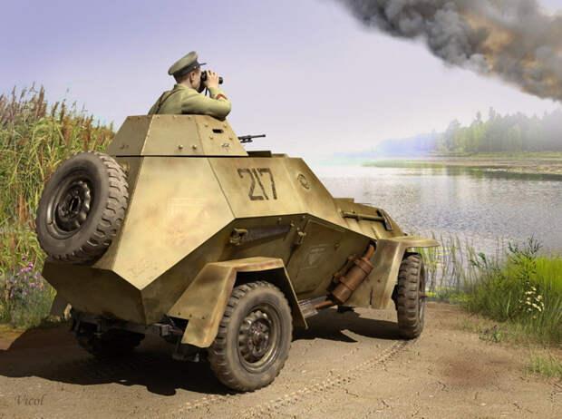 Рассказы об оружии. Бронеавтомобиль БА-64