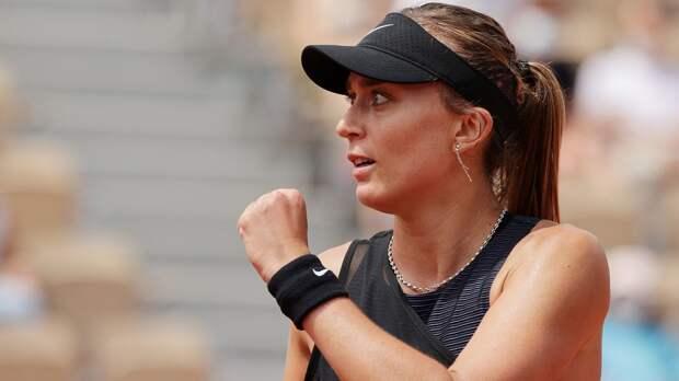 Бадоса обыграла Вондроушову и встретится с Зиданшек в четвертьфинале «Ролан Гаррос»