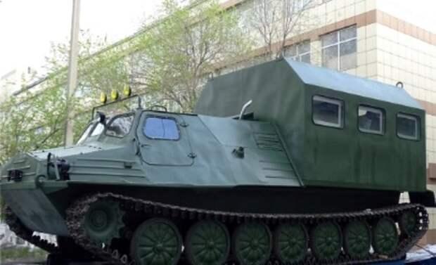 Вездеход ГТ-ТБУ с кунгом