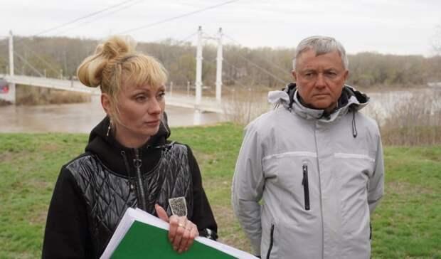 Благоустройство набережной вОренбурге продолжится после паводка