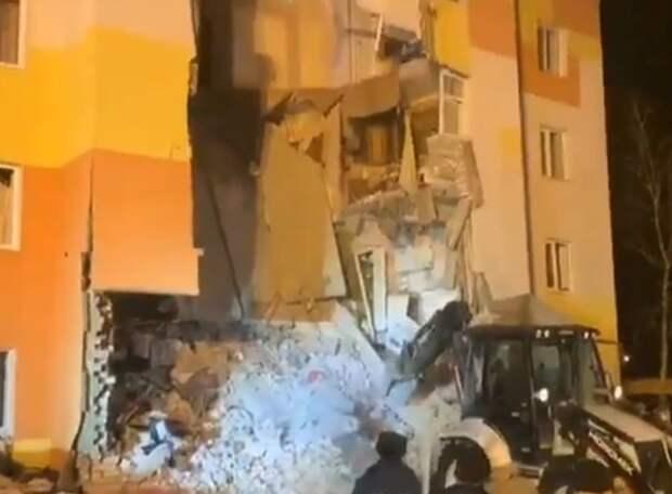 Спасатели завершили работы на месте обрушения в Белгороде