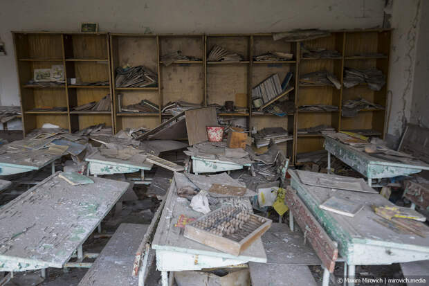 Припять. Школы мёртвого города.