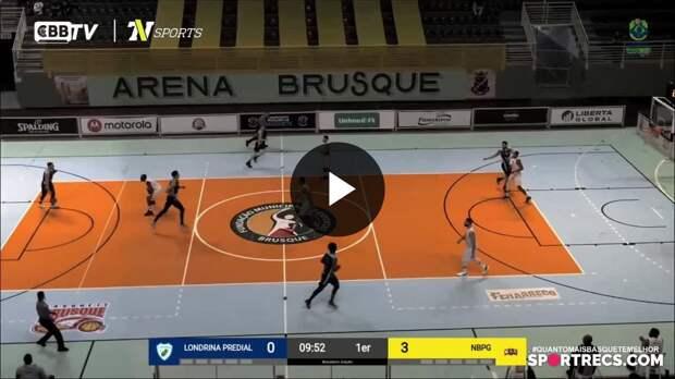 Londrina Basketball 61 x 73 NBPG Ponta Grossa - Melhores Momentos Brasileirão de Basquete (22/04/2021)
