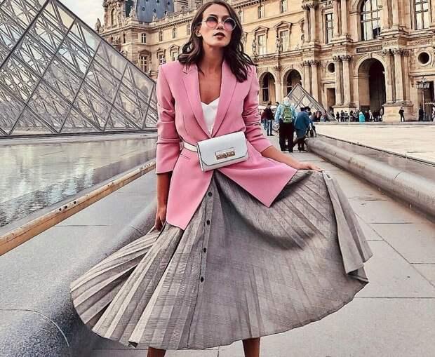 Плиссированная юбка роскошный тренд сезона