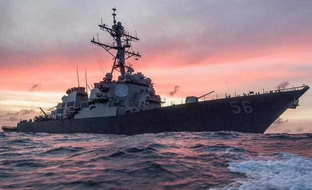 Daily Express: русский морской таран против американской свободы навигации