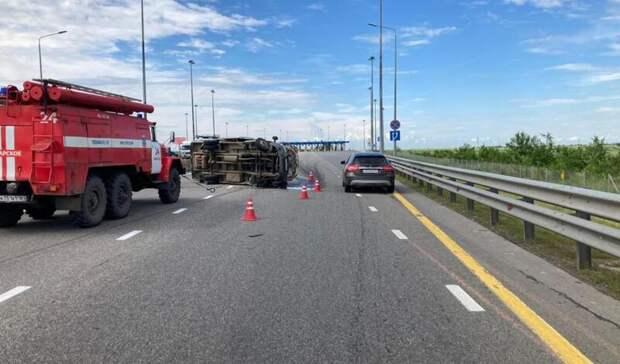 Водитель погиб вРостовской области из-за лопнувшего колеса