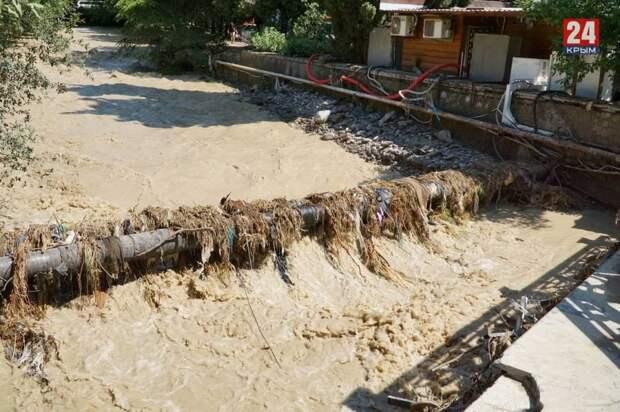 Ялта после наводнения