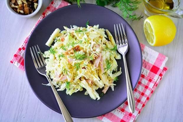 Салат Красотка. Гармоничное сочетание ингредиентов подарит вам потрясающий вкус 7