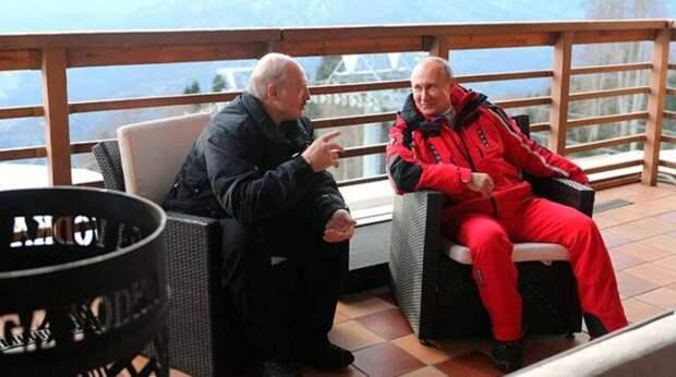 Путин напомнил Лукашенко о вложенных в Белоруссию деньгах
