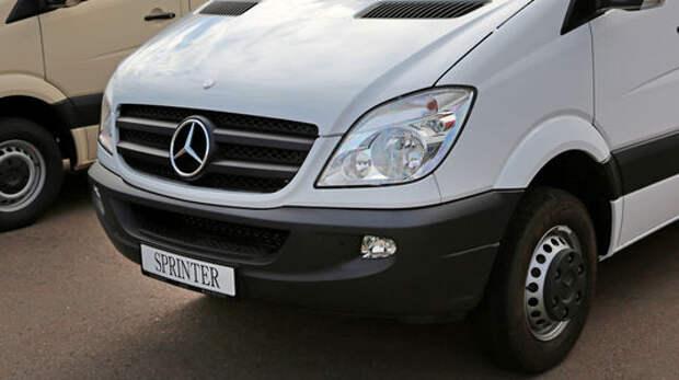 Отзывают 4,6 тыс. Mercedes-Benz Sprinter: а вдруг пожар