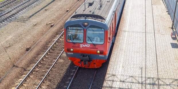 Расписание пригородных поездов, следующих через «Петровско-Разумовскую», изменится в августе