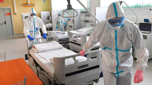 В России выявили 8 465 новых случаев COVID-19