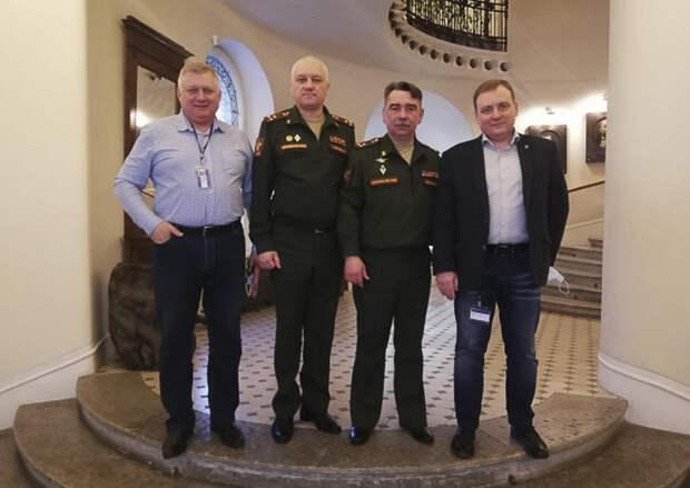 Офицеры Военной академии МТО и представители РГО обсудили меры по популяризации географического и культурного наследия в ВС РФ