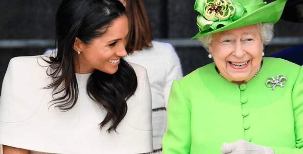Королева Елизавета и Меган Маркл –лучшие подруги