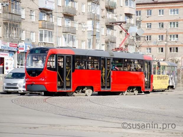 В Златоусте начали работать трамвайные вагоны ижевского производства