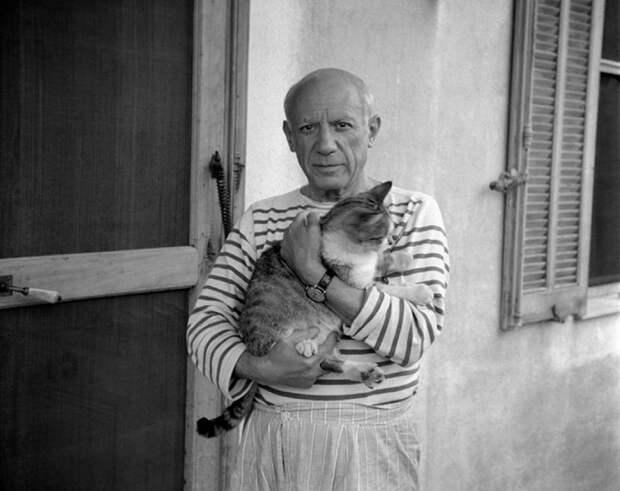 7 великих людей, которые просто обожали кошек