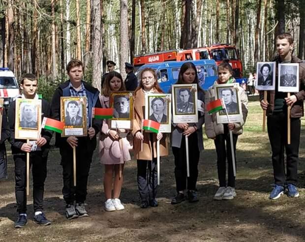 В Кличеве священник принял участие в торжествах, посвященных 76 годовщине Дня Победы.