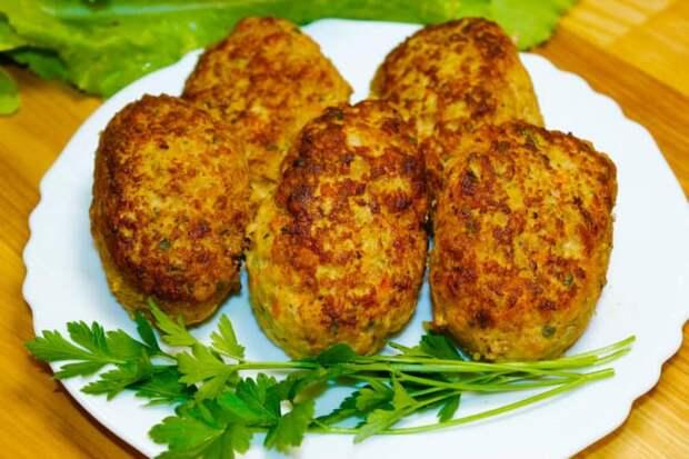 Пышные кабачковые зразы. Идеальное сочетание мяса и овощей 2