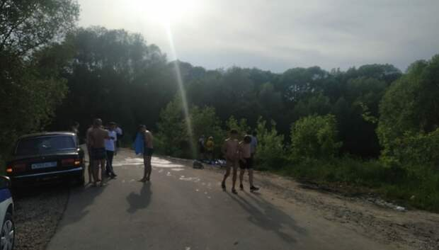 Молодой человек в алкогольном опьянении чуть не утонул в реке Моча в Подольске