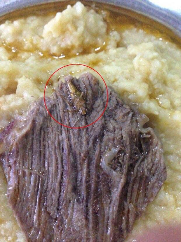 Нажористо! Советник Петра Порошенко опубликовал фотографии тараканов в еде украинских солдат