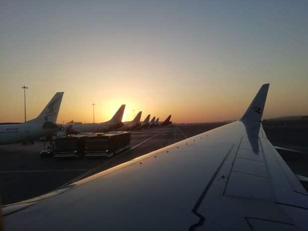 В США при посадке столкнулись два самолета