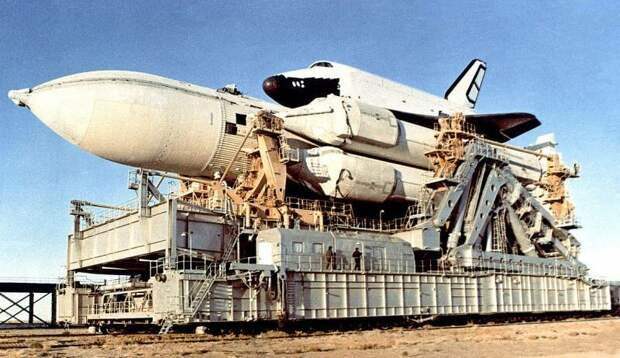 Ракета Энергия. О таком носителе Роскосмос может только мечтать