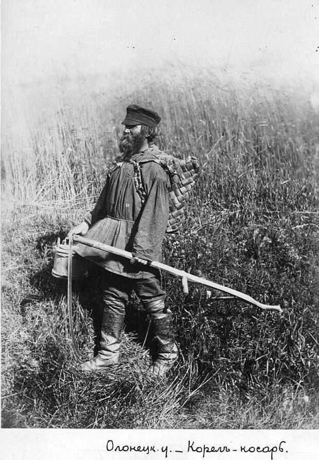 Русская деревня XIX века в фотографиях Михаила Круковского