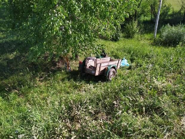 В Удмуртии мотоциклист без прав въехал в дерево и погиб