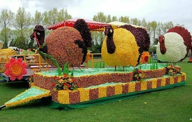 Самые красивые фестивали цветов на планете