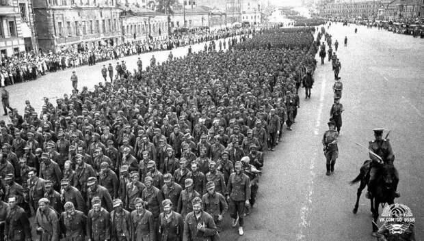 О прогоне немецких военнопленных по Москве в 1944 г