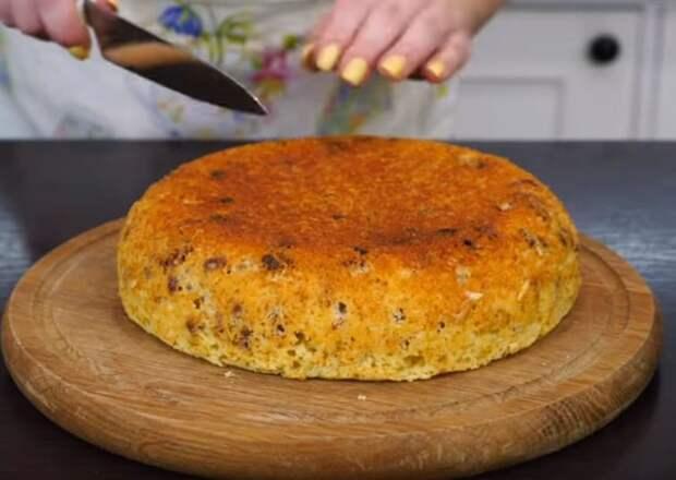 Рецепт пирог на сметане