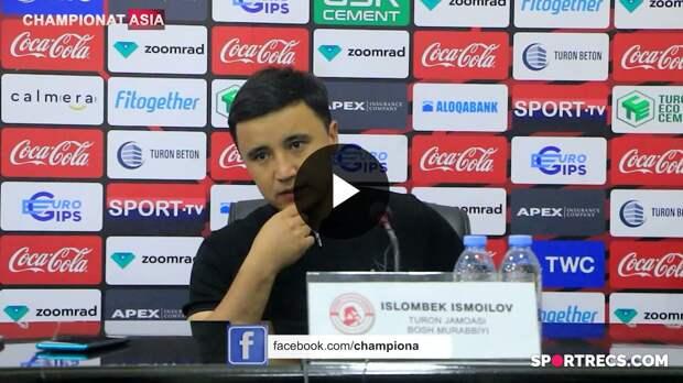 """Islombek Ismoilov: """"SHunday davom etsa, futboldan bir umrga ketaman va o'zim bilan ko'pchilikni olib ketaman"""""""